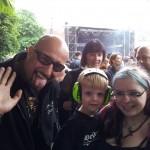 Alex von Eisbrecher mit Andor und Nina